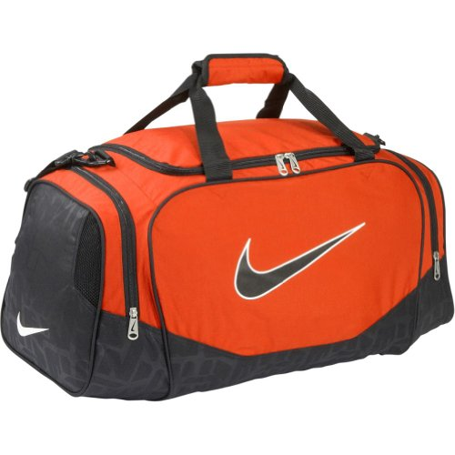 3ed9b9daab6f Nike Brasilia 5 Medium Duffel Grip (Team Orange Black Black) ~ Nike ...