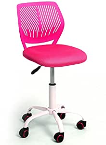 chair for girls home office computer study pink kitchen dining