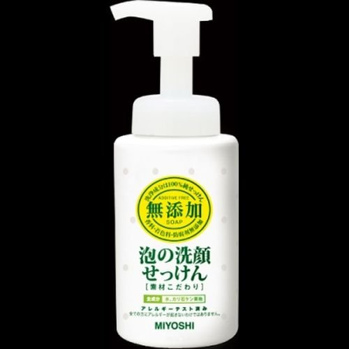 無添加 素材こだわり 泡の洗顔せっけん 200ml
