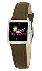 South Park Women's D1575S011 Manilla Collection Kyle Brown Leather Watch