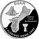 US 2009 P MINT GUAM QUARTER UNC COIN