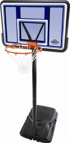 Lifetime Acrylic Fusion Pro Court Portable Basketball System, 44-Inch
