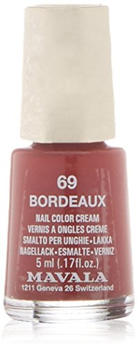 Smalto Minicolors Bordeaux di Mavala, Smalto Donna - 5 ml.
