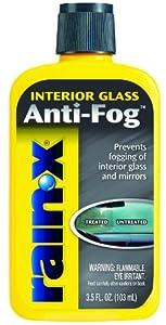Rain X Anti Fog Windshield Treatment, 3 oz from Sopus Products