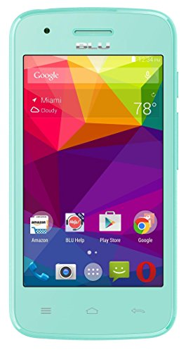 BLU Dash L Unlocked Smartphone - US GSM - Green