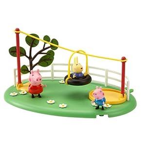 Amazon.com: Peppa Pig Playground Pals - Zipline: Toys & Games