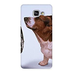 Funny Cute Dog Back Case Cover for Galaxy A7 2016