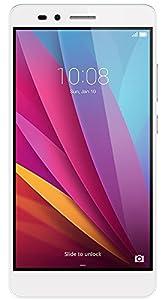 Honor 5X Smartphone débloqué 4G (Ecran: 5,5 pouces - 16 Go - Double Micro-Nano - Android) Argent