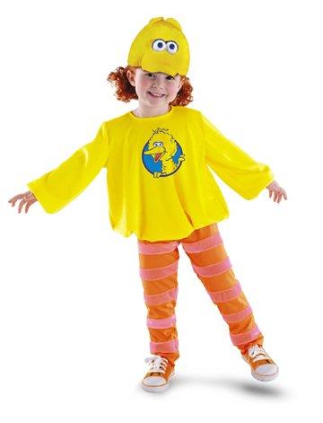 [Big Bird Costume - 2T] (Ernie From Sesame Street Costume)