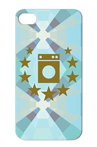 Washing Machine Washer Deluxe Waschen Pralka Symbols Shapes Vaskemaskin Wasmachine Lavatrice Trockner Lave Linge Pesukone Waschmaschine Hausfrau Housewife Dryer Tvttmaskin Lavadora Vaskemaskine Scheur Brown For Iphone 4/4S Tpu Skid-Proof Protective Hard C front-58343