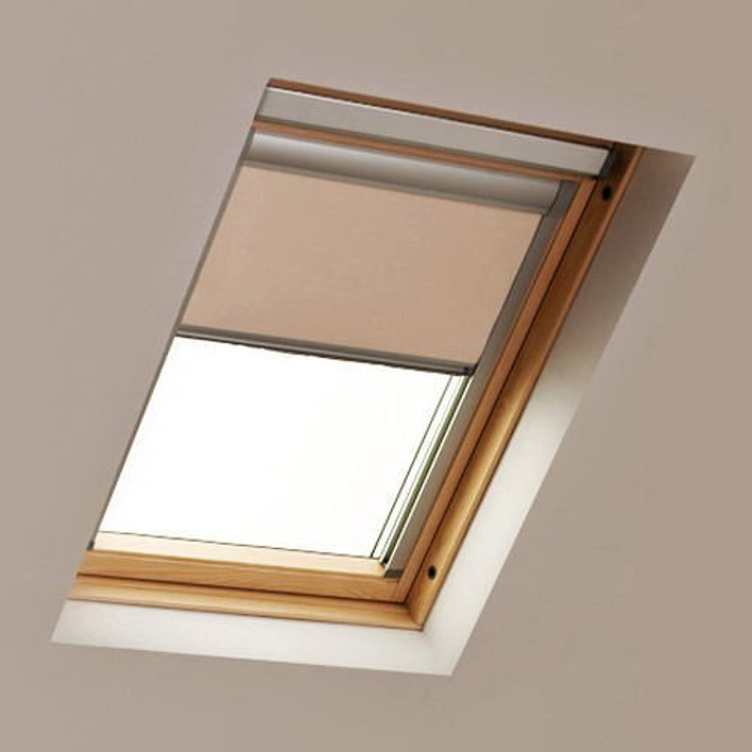Blackout roller roof blinds for ggl 206 velux windows for Velux window shades