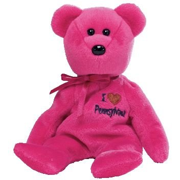 TY Beanie Baby - PENNSYLVANIA the Bear (I Love Pennsylvania - State Exclusive) - 1