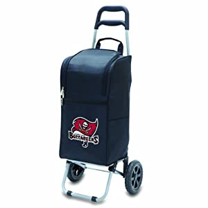 Picnic Time Red NFL Cart Cooler by Picnic Time