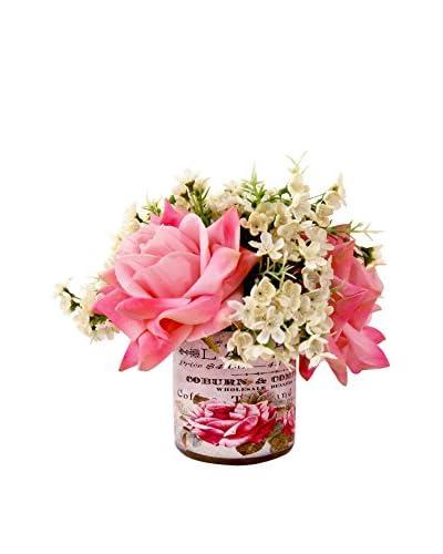 Creative Displays Pink Rose Arrangement