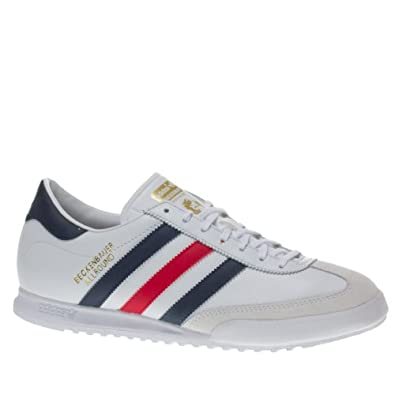 Amazon.com: Adidas Trainers Shoes Mens Beckenbauer White: Shoes