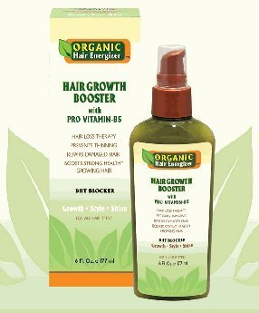 Organic Hair Energizer Hair Growth Booster 6 Oz