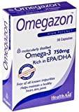 Health Aid, OmegazonTM (Omega 3 Fish Oil) - Blister Pack - 30 Capsules