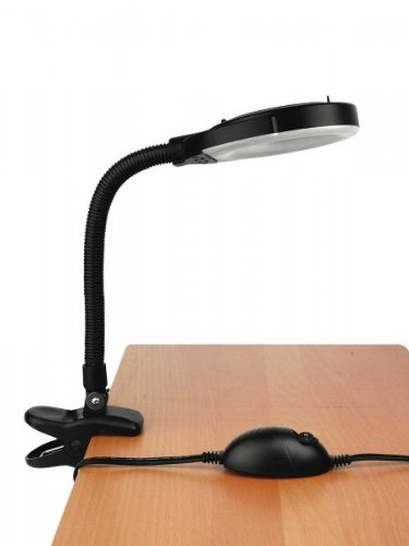 Baby Mag-Lite Reading Lamp with Clamp in Black