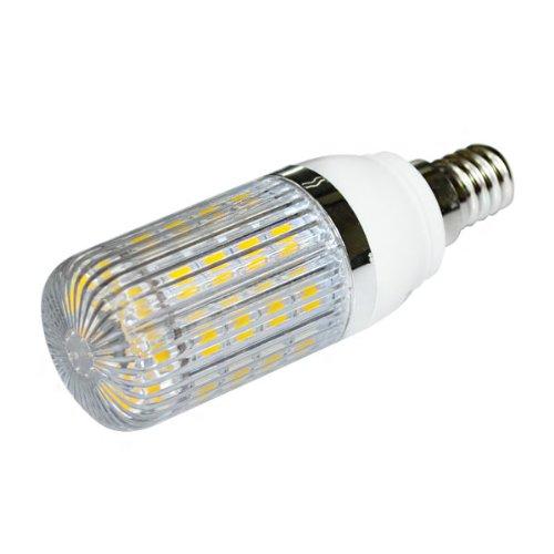 Zono® E14 7W Dimmable Led Bulb 36 5050 Smd Ultra Bright Corn Light Lamp W/ Stripe Plastic Cover