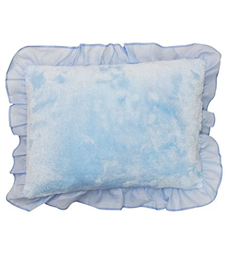 Wonderkids Blue Rectangular Baby Pillow