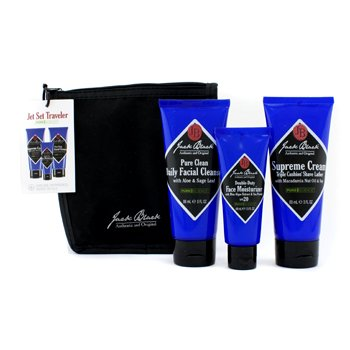 Summer Skin Saver Set: Facial Cleanser + Oil Control Lotion + Sun Guard + Bag 3pcs+1bag