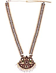 Preethi Gold Plated Gold Metal Chain Necklace For Women (Preethi_39)