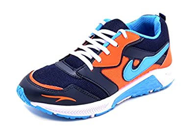 Aircum Men's Blue-Running Shoes