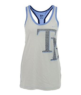 Nike Womens Tampa Bay Rays Dri-Fit Tank Top