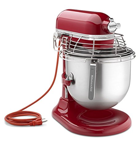 Kitchenaid Ksmc895Er 8-Qt Commercial Bowl-Lift Stand Mixer With Bowl Guard, Empire Red front-482901