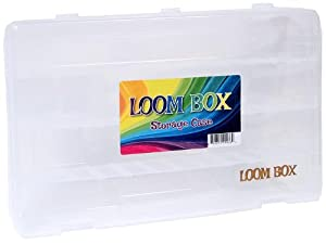 Official Loom Box [Holds Up to 5,000 Rubber Bands & Bracelet Making Accesories!]