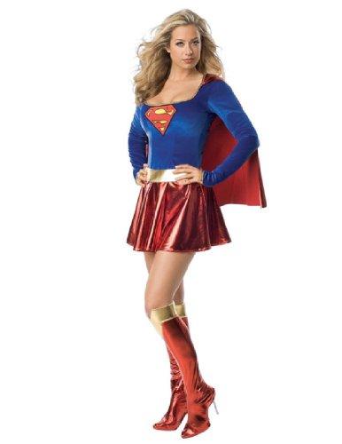 Adult Sexy Supergirl Costume - Medium