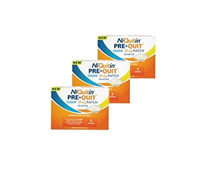 Niquitin 21mg Pre Quit Patch - 7 Patches - Pack of 3 [Personal Care] from Niquitin