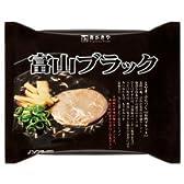 即席 富山ブラックラーメン120g(めん80g)12食入 (1ケース(12食入))