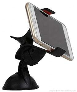Jkobi Universal 360 Degree Rotating Car / Desk Mount Mobile Holder Mobile Phone Stand Compatible For Samsung Galaxy J7 (2016) -Black