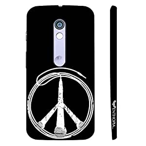 Motorola Moto X Play Peace is Music designer mobile hard shell case by Enthopia