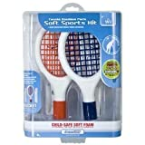 Nintendo Wii Tennis Doubles Pack Soft Sports Kit by dreamGEAR