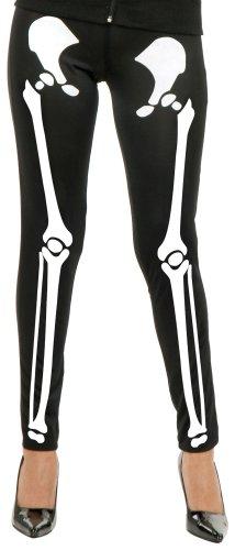 Black & White Skeleton Leggings