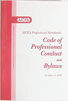 american institute of certified public accounts code of professional conduct essay Code of conduct essay another great point i would like to bring up about amazons ethics code is their ability to institute the code for a code of conduct to be useful american institute of certified public accounts code of professional conduct.
