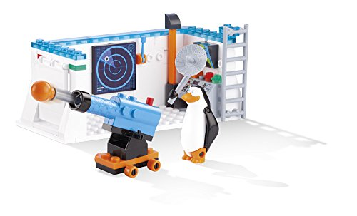 COBI The Penguins of Madagascar North Wind Mission Control Base Building Kit - 1