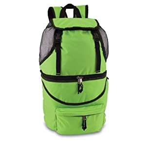 Picnic Time Zuma Insulated Cooler Backpack, Lime