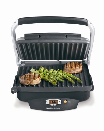 Hamilton Beach 25331 Super Sear 100-Square-Inch Nonstick Indoor Searing Grill (Indoor Grills compare prices)