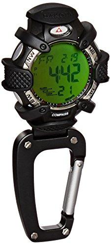 Dakota Watch Company Electronic Compass Clip Watch Alarm & Stopwatch, Blue