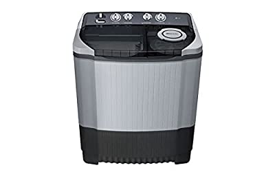 LG P9562R3S Semi-automatic Washing Machine (8.5 Kg, Dark Grey)