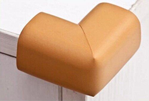 Interbusiness 10 Pack/Lot Baby Child Infant Kids Safety Safe Table Desk Corner Bumps Cushion Guards Foam Protector (Orange)