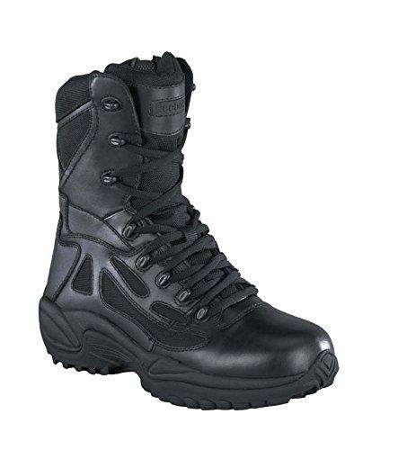 Reebok da uomo Rapid Response 8Side Zip Stivali, Uomo, Rapid Response, nero, Taglia 6