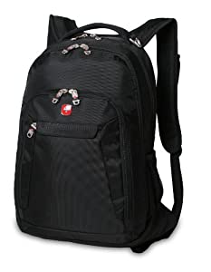 SwissGear Computer Laptop Backpack SA9998 (Black) Fits Most 15 Inch Laptops