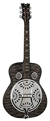 Dean Guitars Quilt Maple RES QM TBK Resonator Spider Guitar