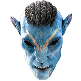 Avatar Na'vi Warrior Face Mask