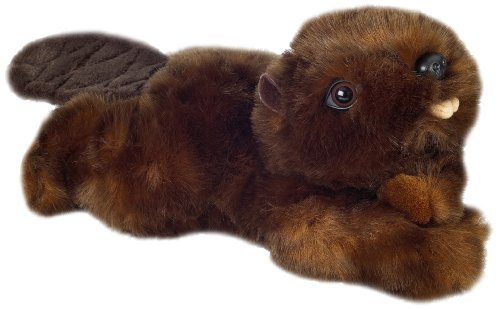 "Purr-Fection Timber Junior Beaver 9"" Plush"