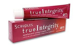 Scruples True Integrity Opalescent Colour Creme Hair Color 2.05 Oz (58.2 g) (6MG Cherry Chocolate - Dark Mahogany Gold Brown)